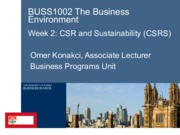 W2 BUSS 1002 CSR lecture S1 2014