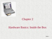 Lecture 4 Chapter+2, CMPE 3 Personal Computers