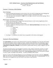 Exercise 1 Review Sheet complete 1 2 4 and 5 Exercise 2 ...