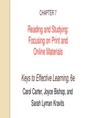 Jan 2018 Chapter 7 - Reading and Studying Print and Online Materials.pdf