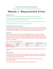 Module 1 Experimental Error Report template_03
