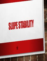04_Slope Stability