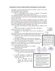 CHAPTER 6 - Space Perception and Binocular VIsion.docx