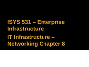 05-IT Infrastructure - Chp 8