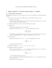 Semester Lecture Notes Part 2 on Advanced Linear Algebra II