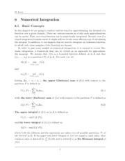 Ch6 Numerical Integration