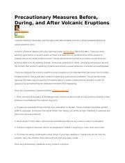 volcanic eruption precautions.docx