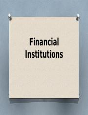 Financial-Institution