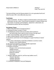 Study Guide Geology 7 Midterm 2 Fall 2015.pdf