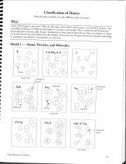 Key Classification Of Matter Pdf Classication Of Matter How Do