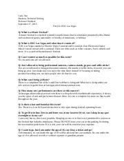 FAQ assignment