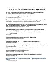 IS-120 C_-An-Introduction-to-Exercises pdf - IS 120 C An