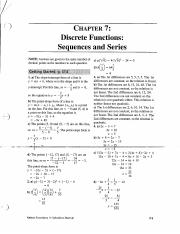 MATHS DISCRETE FUNCTIONS SEQUENCES AND SERIES  CHAPTER 7 SOLUTIONS.PDF