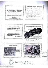 Environmental Changes Weathering and Uplidlft Uplift Lecture Notes 10