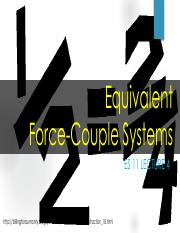 Lec 4 - Equivalent force couple systems.pdf