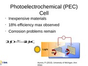 PhotoelectrochemicalCell
