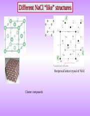 different NaCl structures.ppt