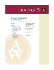 6. Chapter 5 - Discrete Probability Distributions