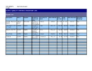 HS210 QUALITY CONTROL INVENTORY LOG Template - Unit 3