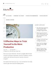 5 Ways to Trick Yourself to Be More Productive _ EduAdvisor.pdf