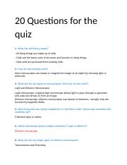 20 Questions for the quiz.docx