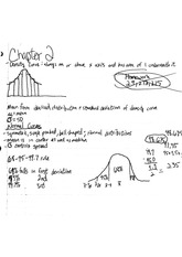 stat chapter 2 notes standardizing and z-scores