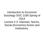 SOC 2190 3 Interests etc