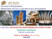 Stiffness Method-Truss Analysis