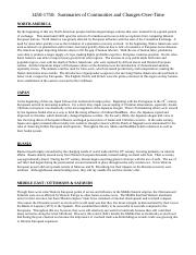 AP - 1450-1750 - Summaries of World Regions and Contacts-2.doc