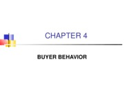04 - Buyer Behavior