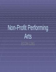 Non-Profit Performing Arts.pptx