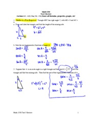 Test 3 Review Solution 2
