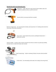 building surveying equipment.docx