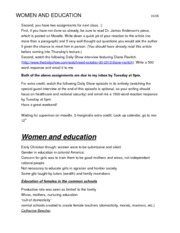 11-5 Lecture (women and education)