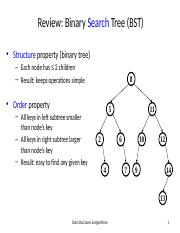Lecture AVL Trees (1)