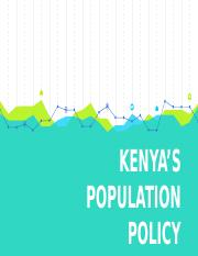 KENYA'S POPULATION POLICY FINAL.pptx