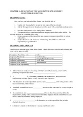 BUS 100 Chapter 04 Study Guide