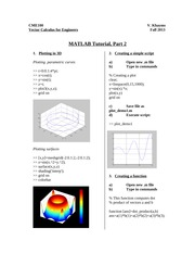 Matlab intro 2