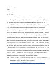 Annotated Bibliography: Attack of the Citations.docx