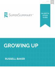 Growing Up - SuperSummary Study Guide.pdf