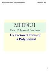 1.3_Factored_Form_of_a Polynomial