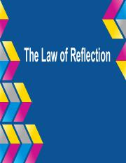 The Law of Reflection.pdf
