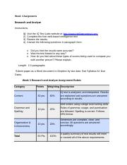 PSY101_W3_Research_and_Analyze_Assignment & Rubric.docx