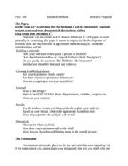 Research Proposal 2013