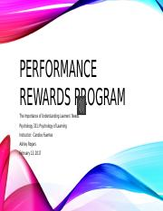 Performance Rewards Program.pptx