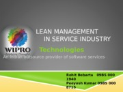 46420439-Wipro-Lean-Implementation.ppt