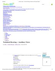 Auxiliary Views - Technical Drawing Questions and Answers Page 2