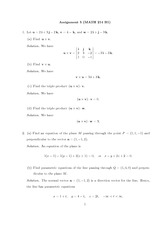 Math 214 Assignment 5