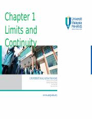 Chapter 1 Limit and Continuity.ppt