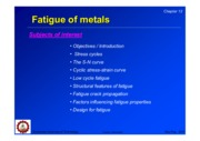 12_Fatigue of metals
